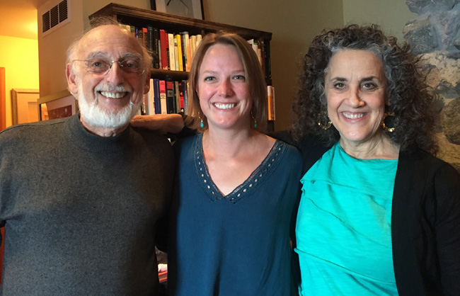 Workshop presenter Kimberly Panganiban with John and Julie Gottman